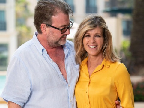 Kate Garraway says husband Derek has 'opened his eyes' as she hopes for his recovery