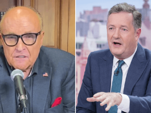 'You're a failed journalist!' Rudy Giuliani launches scathing personal attack on Piers Morgan over controversial Trump tweet