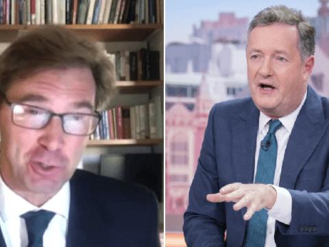 Piers Morgan slams 'stupid' coronavirus sex ban in blazing row with Tory MP