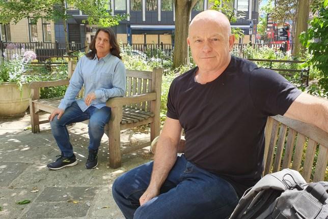 Ross Kemp and Scott Mitchell