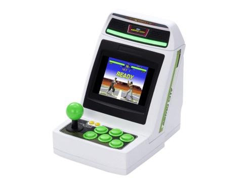 New Sega Astro City Mini console is a miniature arcade with Virtua Fighter, Golden Axe, and more