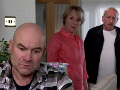 Coronation Street spoilers: Tim Metcalfe finally makes a choice between Geoff and Sally tonight