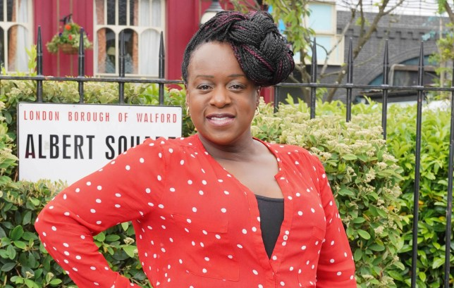 Tameka Empson in EastEnders: Secrets From The Square