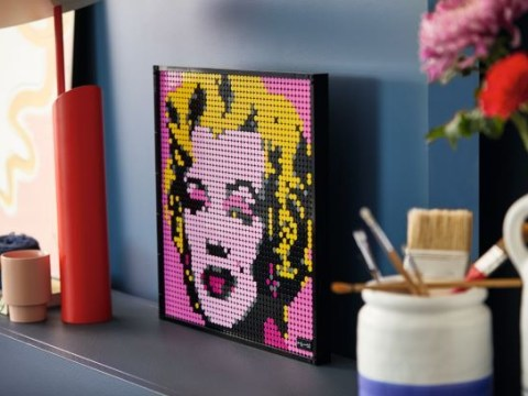 Lego gets classy with new brick-built pop art Andy Warhol poster and more