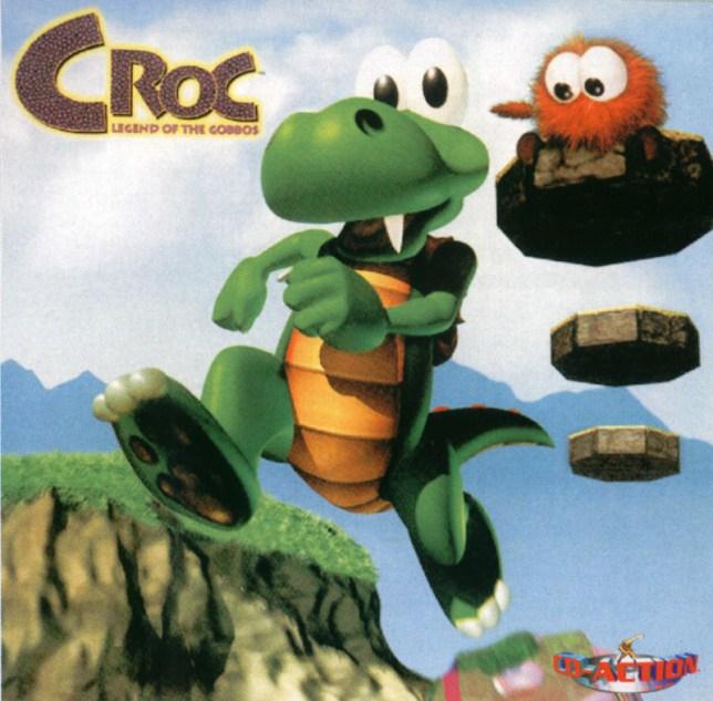 Croc: Legend Of The Gobbos box art