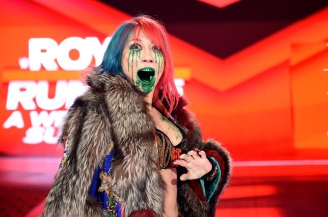 WWE superstar and Raw Women's Champion Asuka