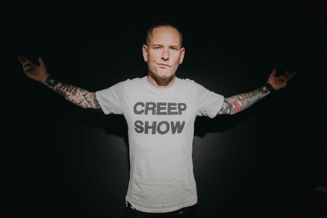 Slipknot frontman Corey Taylor PR shot Photo: Ashley Osborn