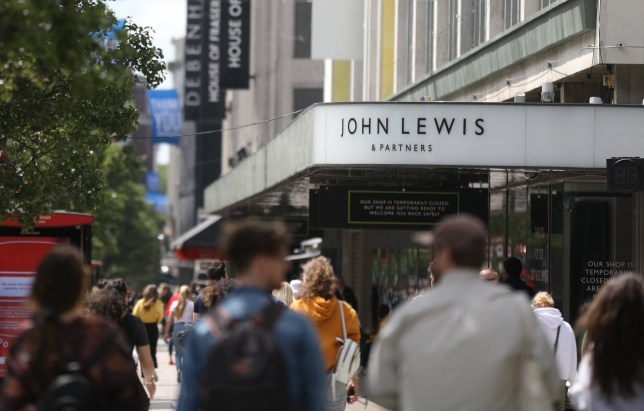 A closed John Lewis store in Oxford Street. The retail bloodbath has continued apace as the John Lewis Partnership warned over store closures and job cuts and Sir Philip Green's Topshop empire also revealed redundancy plans. Picture date: Friday July 3, 2020.