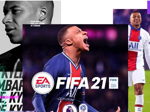 FIFA 21 reveals cover star Kylian Mbappé and… some really ugly box art