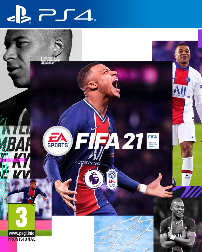 FIFA 21 Standard Edition box art