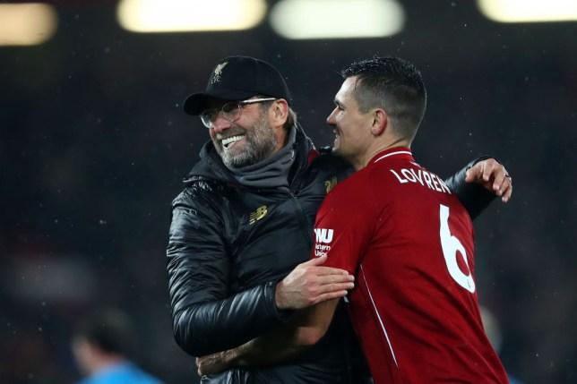 Jurgen Klopp pays tribute to 'Liverpool legend' Dejan Lovren as transfer to Zenit is confirmed