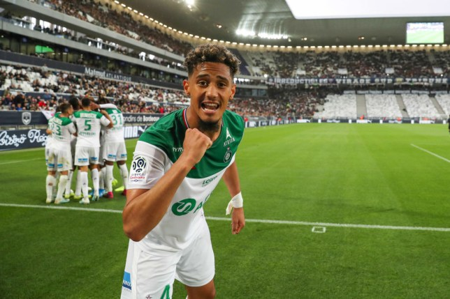William Saliba will not take part in Saint-Etienne's French Cup final against Arsenal