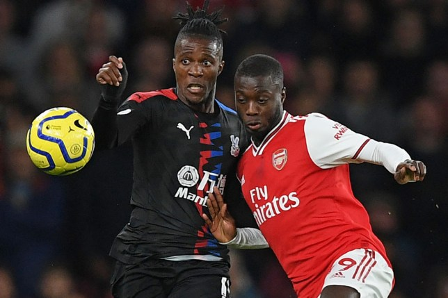 Murray says Zaha was the 'perfect' fit for Arsenal