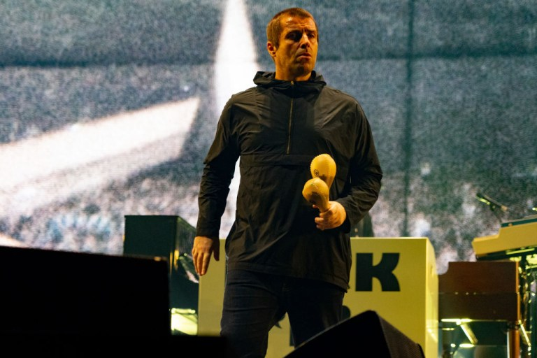 Liam Gallagher Performing Live At The O2