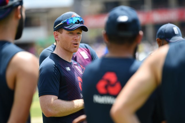 Eoin Morgan's World Cup champions will face Ireland in a three-match one-day series