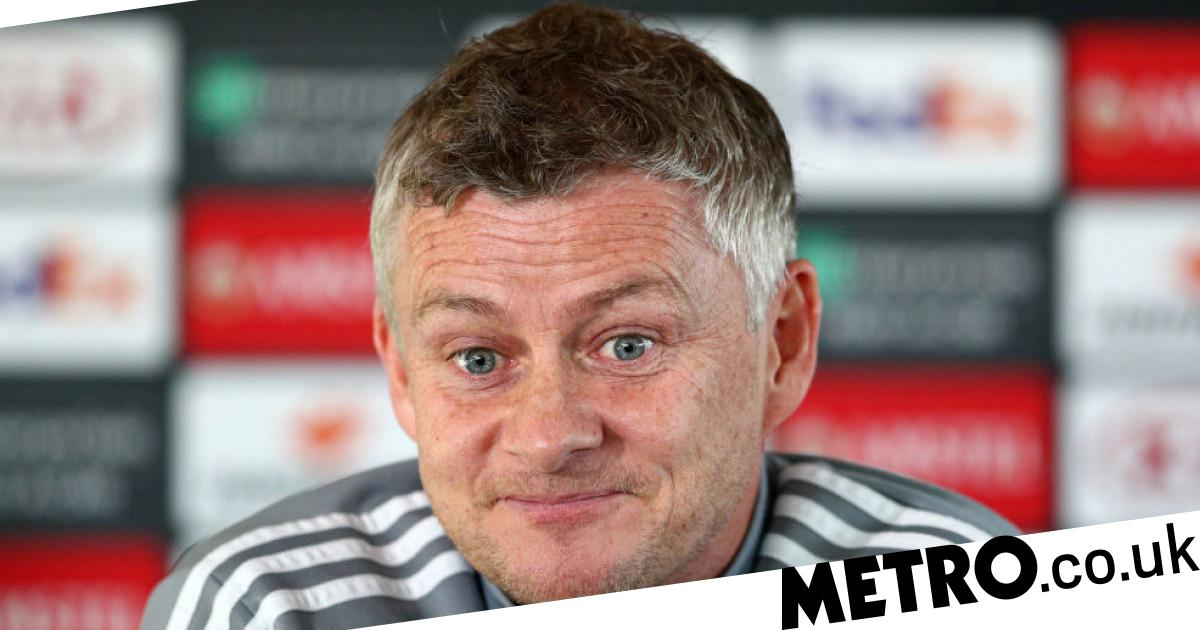 Solskjaer reacts to Man Utd facing Man City in Carabao Cup ...