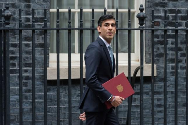 Rishi Sunak prononce la déclaration d'été à l'extérieur de Downing Street