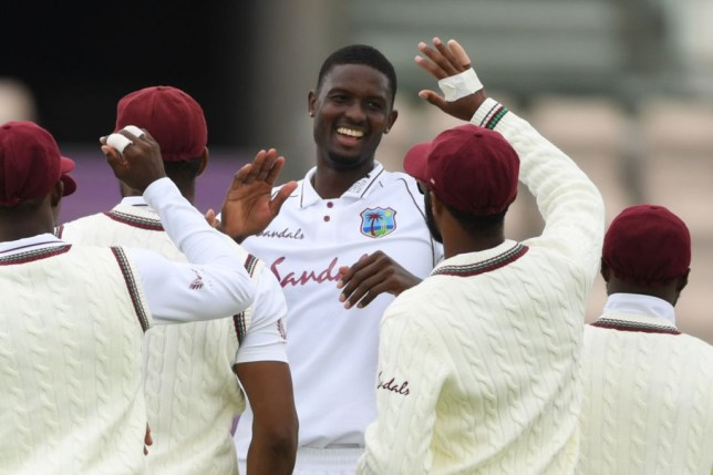 Jason Holder starred as West Indies bowled England out cheaply