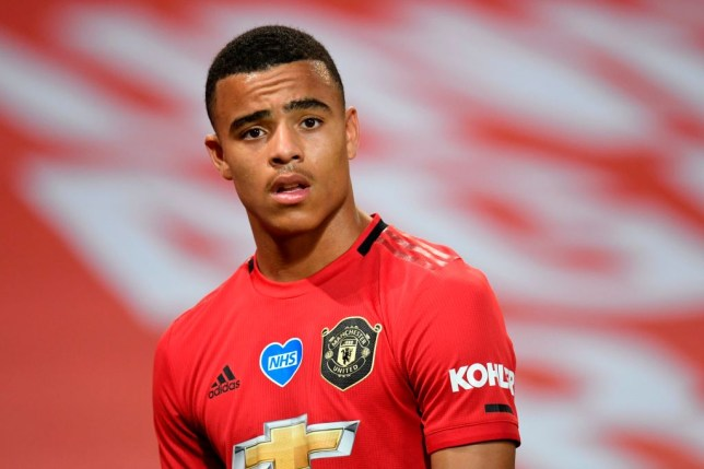 Mason Greenwood inhaled a balloon filled with nitrous oxide