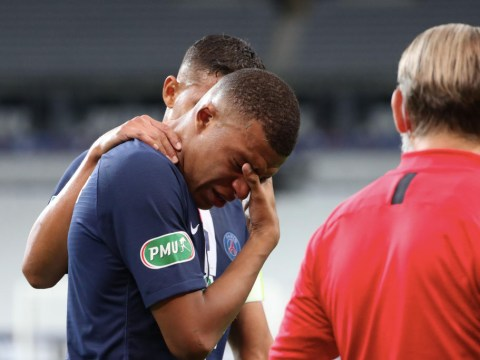Thomas Tuchel slams Saint-Etienne after horror tackle reduces Kylian Mbappe to tears