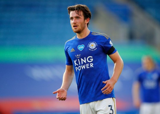 Ben Chilwell during Leicester City v Brighton & Hove Albion - Premier League
