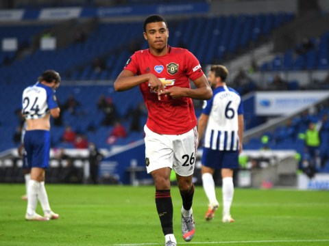 Manchester United's Mason Greenwood matches Wayne Rooney record with Brighton goal