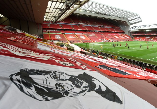 Liverpool will  receive the Premier League trophy at Anfield on Wednesday