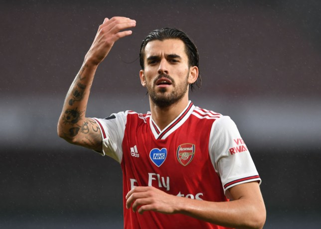 Ceballos is happy at the Emirates
