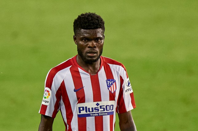 Arseanal have submitted a new offer to sign Thomas Partey from Atletico Madrid