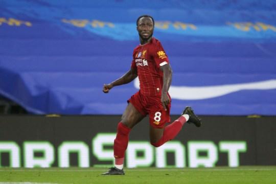 Naby Keita Brighton & Hove Albion v Liverpool FC - Premier League