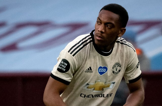 Man Utd news: Solskjaer reacts to Anthony Martial's 'fuming ...