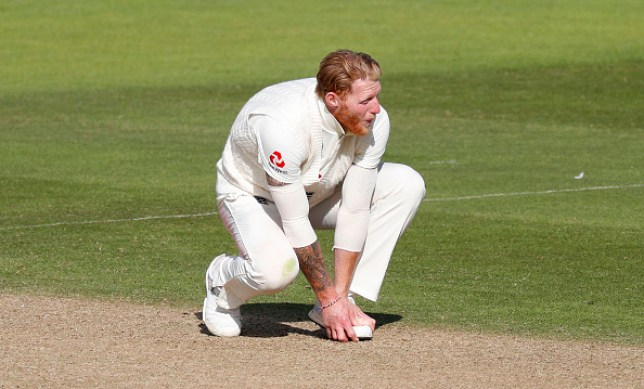 Ben Stokes appeared in pain as West Indies frustrated England