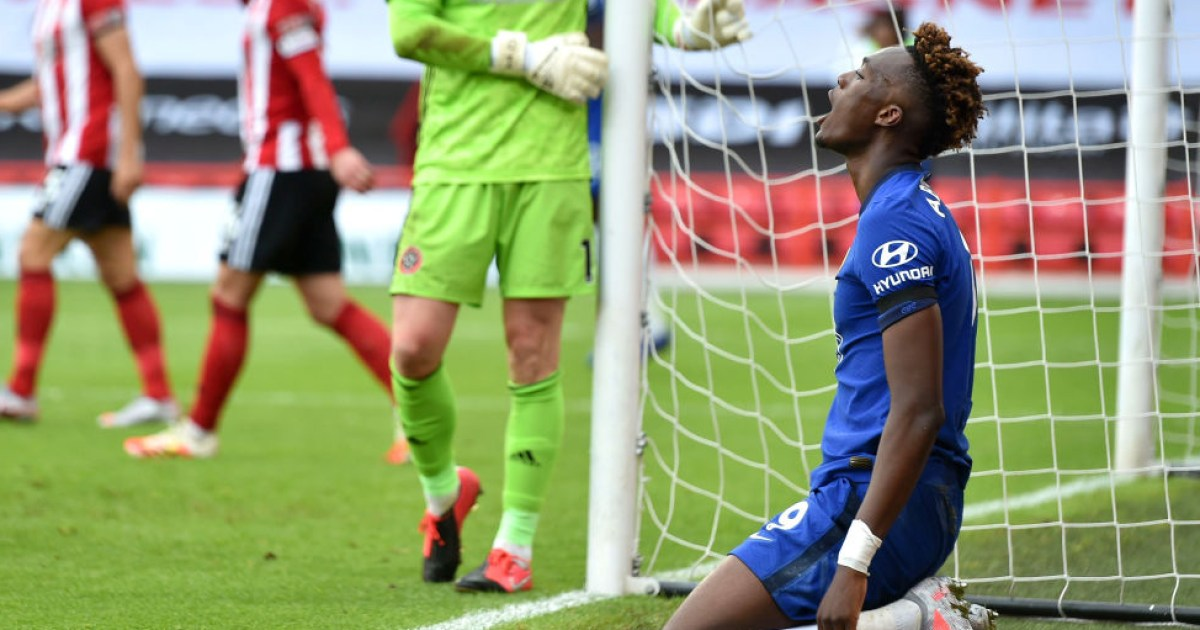 Tammy Abraham questions Frank Lampard's tactics after Chelsea thrashed by Sheffield United - metro