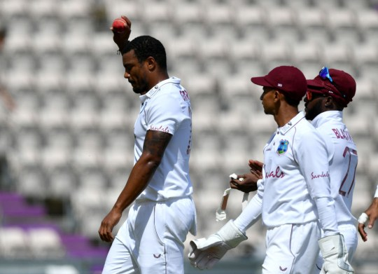 Shannon Gabriel claimed his sixth Test five-wicket haul