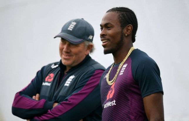 England star Jofra Archer has been excluded from the second Test against West Indies