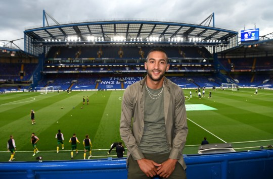 Hakim Ziyech has joined up with his new Chelsea team-mates following his move from Ajax