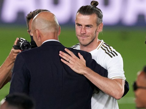 Gareth Bale axed completely from Real Madrid squad after La Liga title celebrations