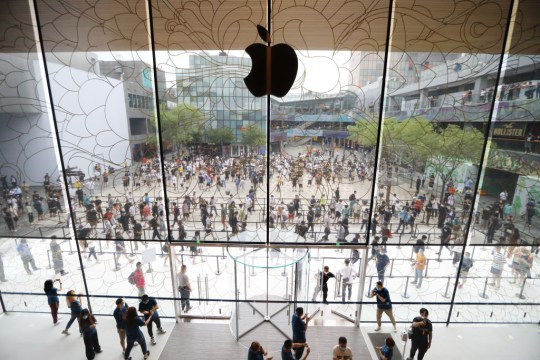 Apple's New Store In Beijing Sanlitun