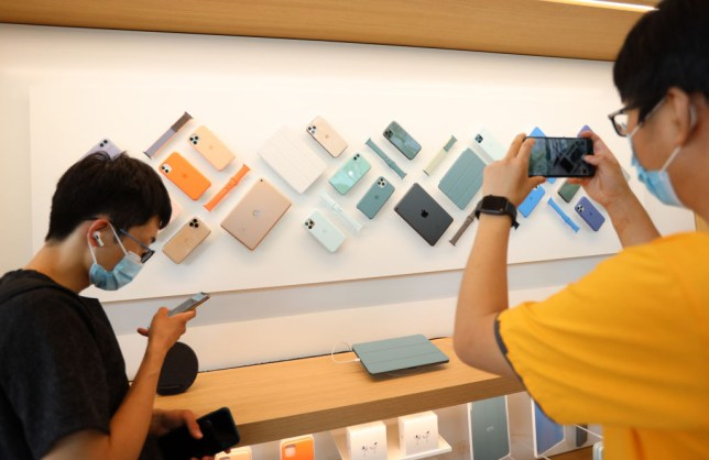 Apple Opens New Store In Beijing Sanlitun