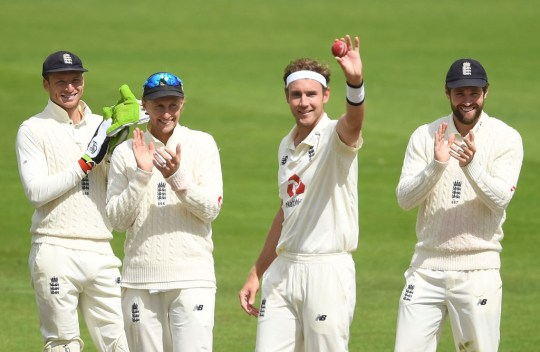 Broad bowled superbly in the second and third Tests