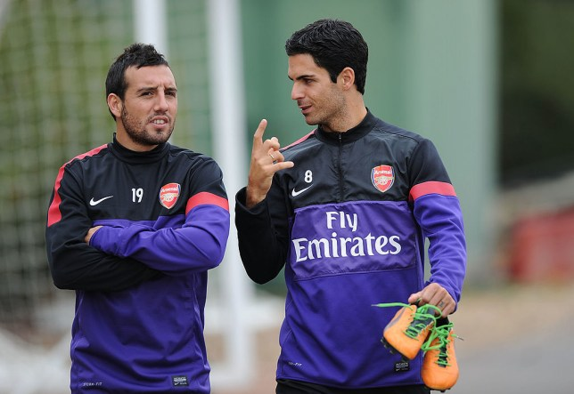 Mikel Arteta has suggested that he would welcome Santi Cazorla back at Arsenal