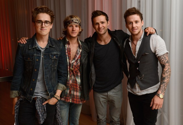McFly - Tom Fletcher, Danny Jones, Harry Judd, and Dougie Poynter