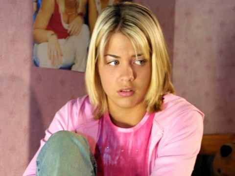 Who was Lisa Hunter in Hollyoaks and what happened to her?