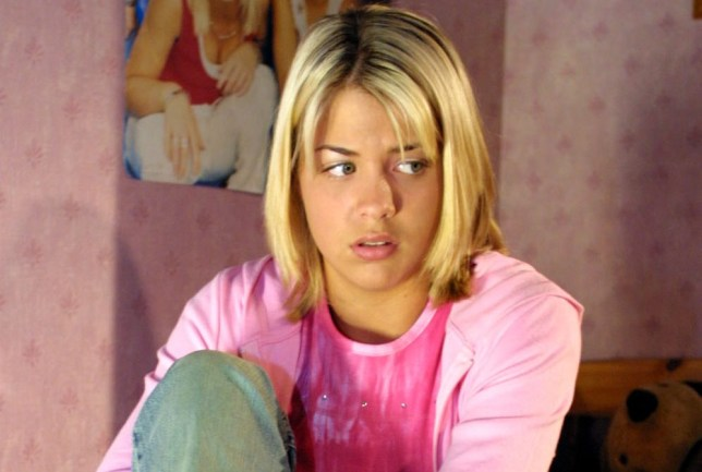 LISA HUNTER IN HOLLYOAKS