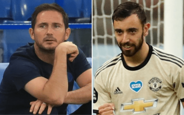 Frank Lampard is concerned about the number of times VAR has ruled in Man Utd's favour recently