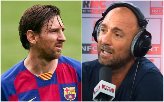 French World Cup winner Christophe Dugarry called Lionel Messi a 'half-autistic kid'