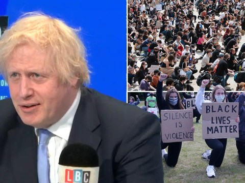 Boris would not take the knee for Black Lives Matter as 'I don't believe in gestures'
