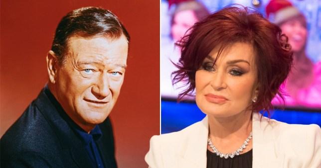Sharon Osbourne slams 'bad man' John Wayne