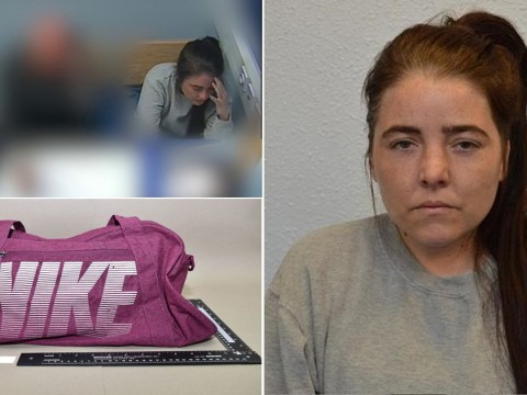 Isis supporter smiles as she's jailed for life for plot to blow up St Paul's