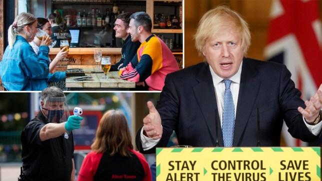 Boris Johnson warns public before Super Saturday